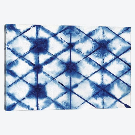 Indigo Shibori Collection III Canvas Print #EMD11} by Elizabeth Medley Canvas Print