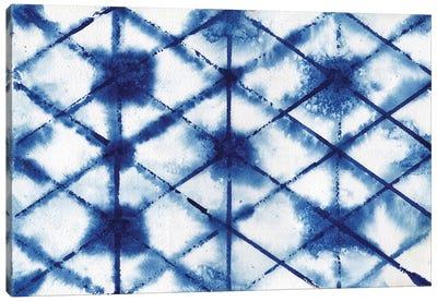 Indigo Shibori Collection III Canvas Art Print