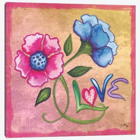 Spring Blossom III Canvas Print #EMD120} by Elizabeth Medley Canvas Art Print