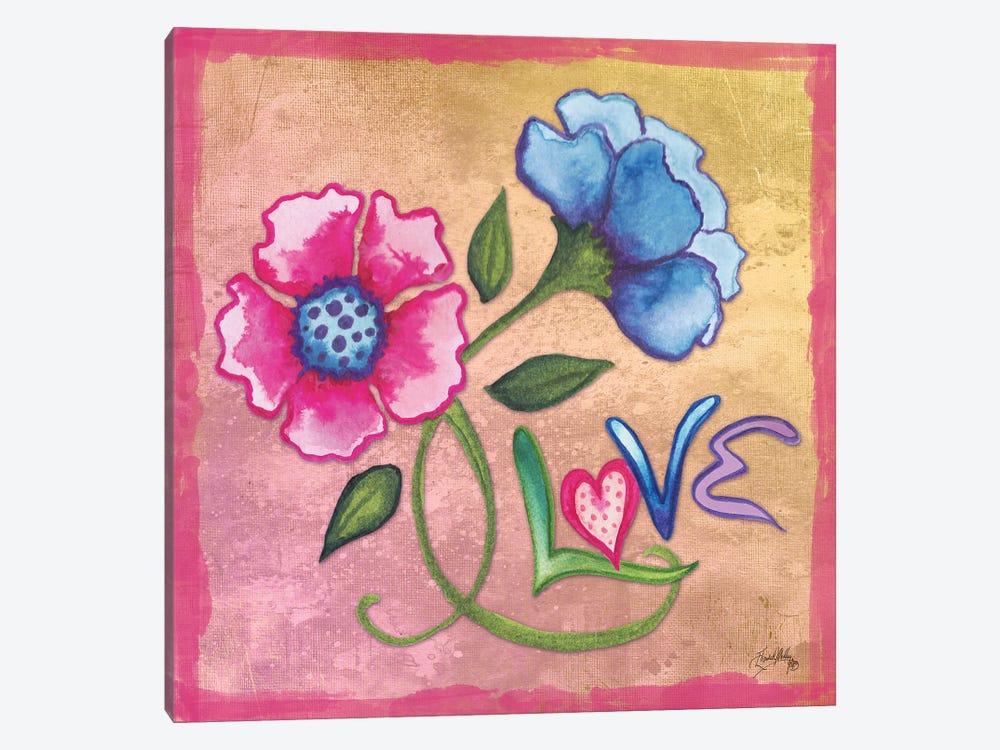 Spring Blossom III by Elizabeth Medley 1-piece Canvas Print