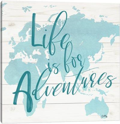 Adventure Map I Canvas Art Print