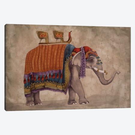 Ceremonial Elephants II Canvas Print #EMD24} by Elizabeth Medley Canvas Art Print