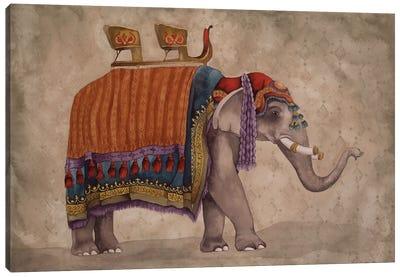 Ceremonial Elephants II Canvas Art Print