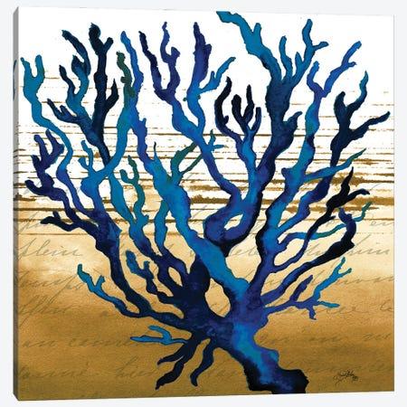 Coastal Blue I Canvas Print #EMD25} by Elizabeth Medley Art Print