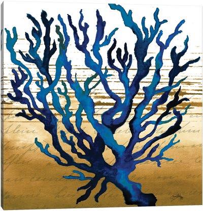 Coastal Blue I Canvas Art Print
