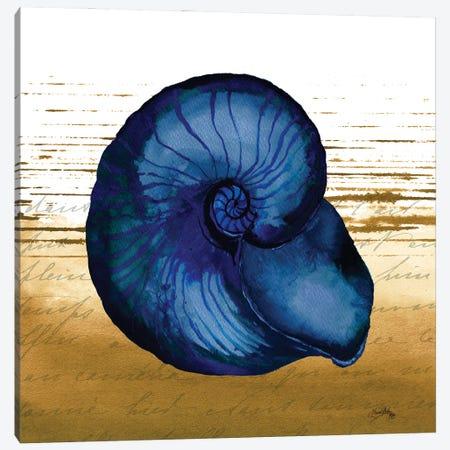 Coastal Blue IV Canvas Print #EMD28} by Elizabeth Medley Canvas Artwork