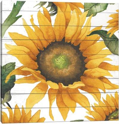 Happy Sunflower I Canvas Art Print
