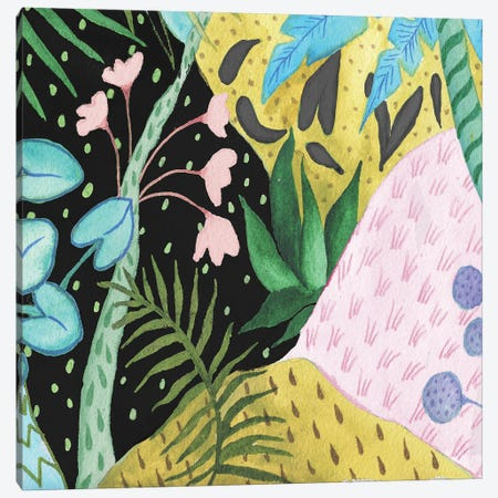 In the Tropics I Canvas Print #EMD37} by Elizabeth Medley Canvas Art