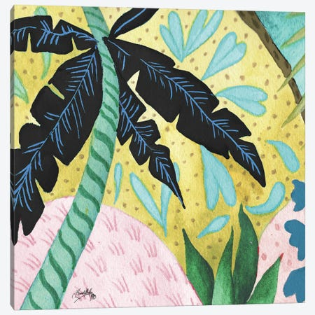 In the Tropics II Canvas Print #EMD38} by Elizabeth Medley Art Print
