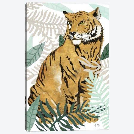 Jungle Tiger II Canvas Print #EMD42} by Elizabeth Medley Canvas Wall Art
