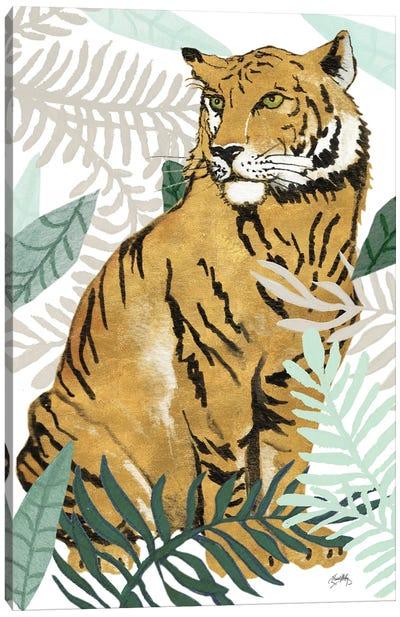 Jungle Tiger II Canvas Art Print