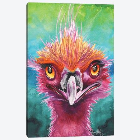 Emus of a Feather Canvas Print #EMD4} by Elizabeth Medley Canvas Art Print