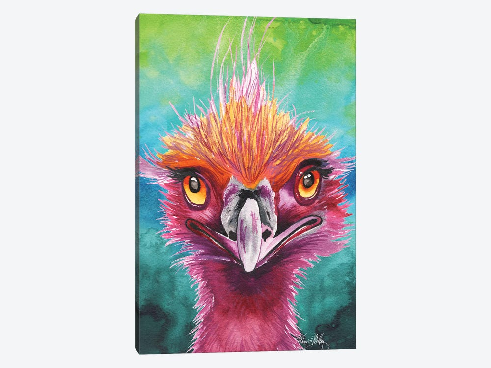 Emus of a Feather by Elizabeth Medley 1-piece Canvas Art