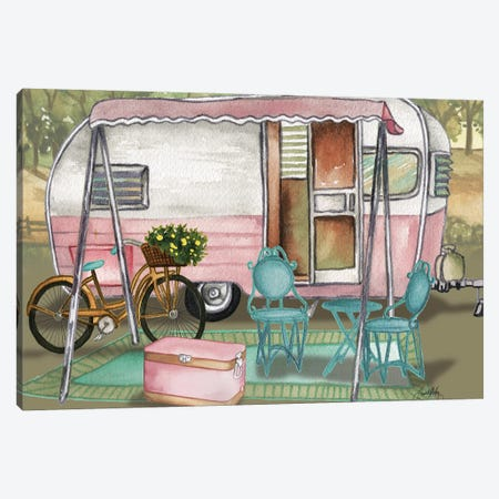 Roughing It I Canvas Print #EMD54} by Elizabeth Medley Canvas Wall Art