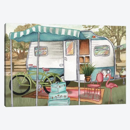 Roughing It II Canvas Print #EMD55} by Elizabeth Medley Canvas Artwork
