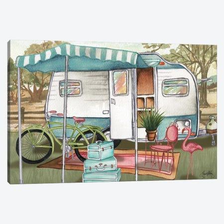 Roughing It II Canvas Print #EMD55} by Elizabeth Medley Canvas Artwork