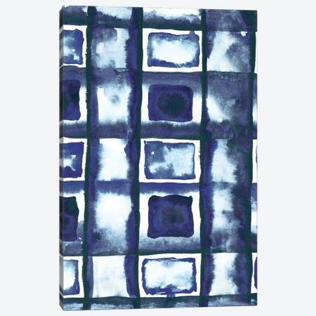 Shibori Box Pattern II Canvas Print #EMD57} by Elizabeth Medley Canvas Art