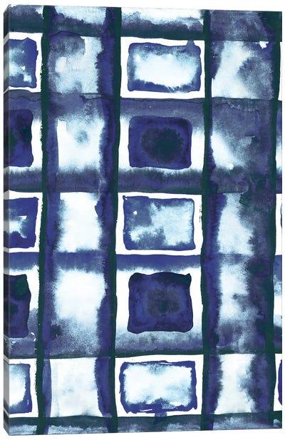 Shibori Box Pattern II Canvas Art Print