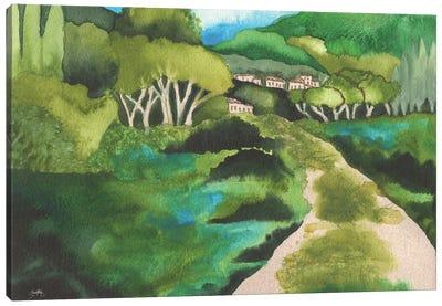 Small Village I Canvas Art Print