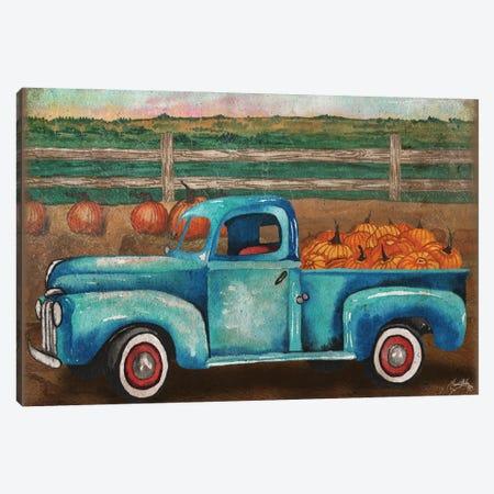 Truck Harvest I Canvas Print #EMD68} by Elizabeth Medley Canvas Art