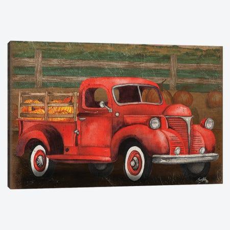 Truck Harvest III Canvas Print #EMD69} by Elizabeth Medley Canvas Artwork