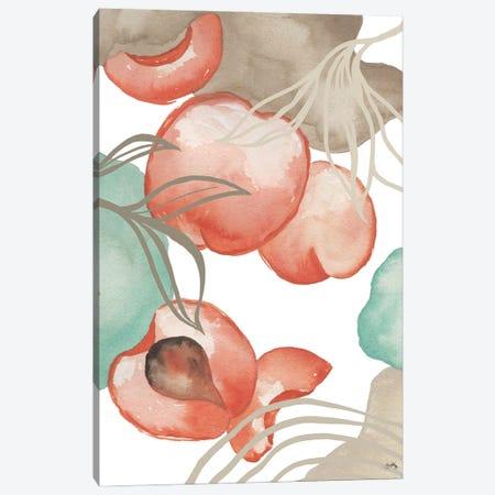 Art Deco Peach Canvas Print #EMD75} by Elizabeth Medley Canvas Wall Art