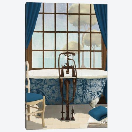 Blue View I Canvas Print #EMD78} by Elizabeth Medley Canvas Art Print