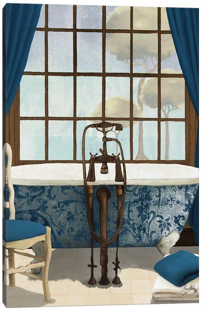 Blue View I Canvas Art Print