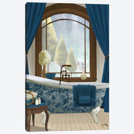 Blue View II Canvas Print #EMD79} by Elizabeth Medley Canvas Art Print