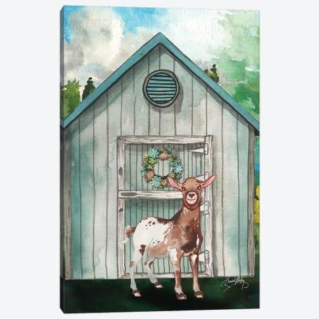 Goat Shed I Canvas Print #EMD7} by Elizabeth Medley Art Print