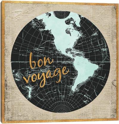 Bon Voyage World I Canvas Art Print