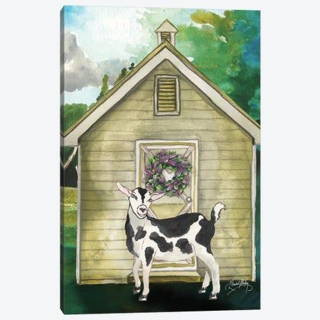 Goat Shed II Canvas Print #EMD8} by Elizabeth Medley Canvas Wall Art