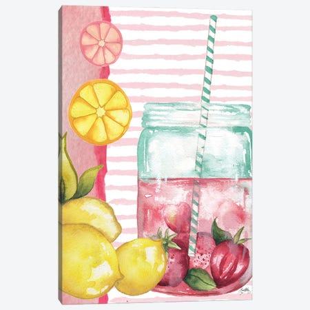 Cool Refreshments I Canvas Print #EMD91} by Elizabeth Medley Art Print