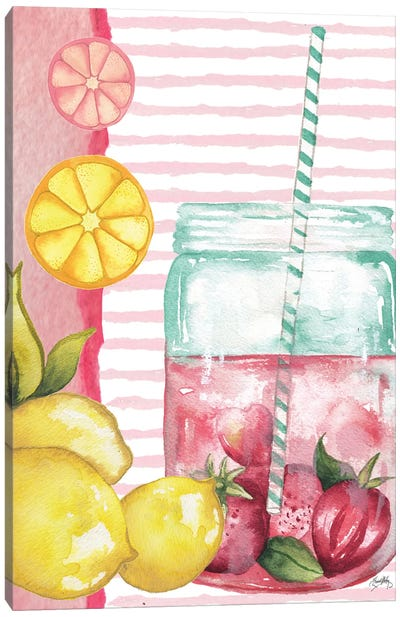 Cool Refreshments I Canvas Art Print