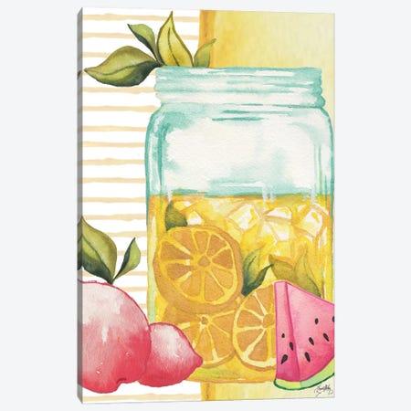 Cool Refreshments II Canvas Print #EMD92} by Elizabeth Medley Canvas Print