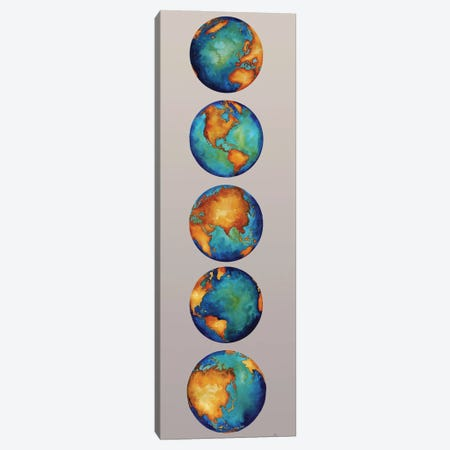 Earth Canvas Print #EMD96} by Elizabeth Medley Canvas Wall Art