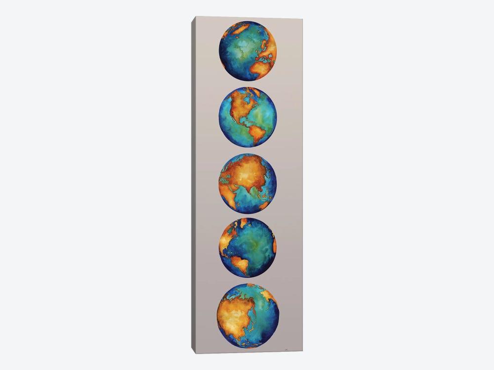 Earth by Elizabeth Medley 1-piece Canvas Art Print