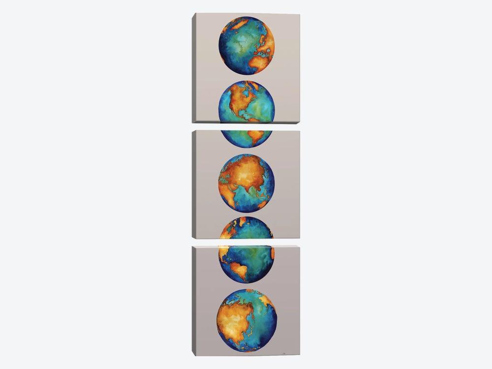 Earth by Elizabeth Medley 3-piece Art Print