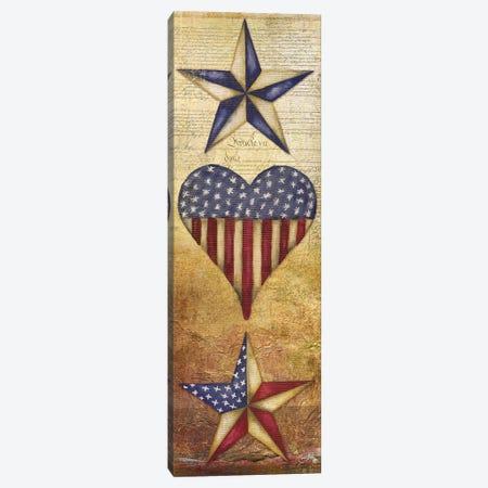 America Stars II Canvas Print #EME108} by Elizabeth Medley Canvas Wall Art