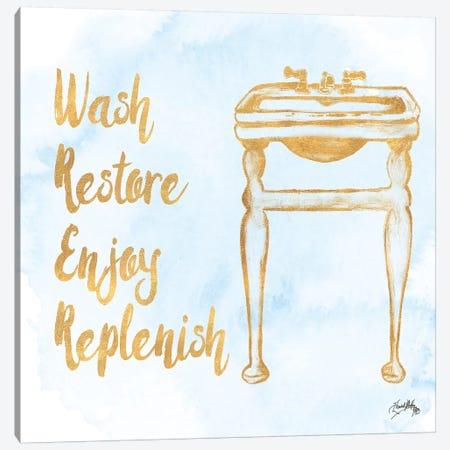 Bath Inspiration II Canvas Print #EME110} by Elizabeth Medley Canvas Art Print