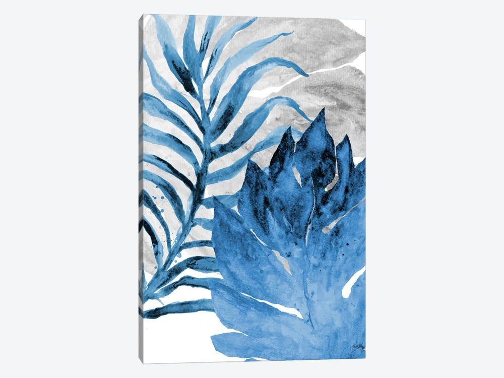 Blue Fern and Leaf I by Elizabeth Medley 1-piece Art Print