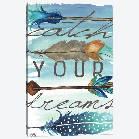 Catch Your Dreams Canvas Print #EME114} by Elizabeth Medley Canvas Artwork