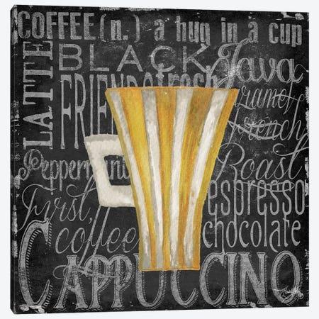 Coffee of the Day II Canvas Print #EME119} by Elizabeth Medley Canvas Print