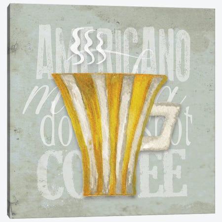 Daily Coffee I Canvas Print #EME126} by Elizabeth Medley Art Print