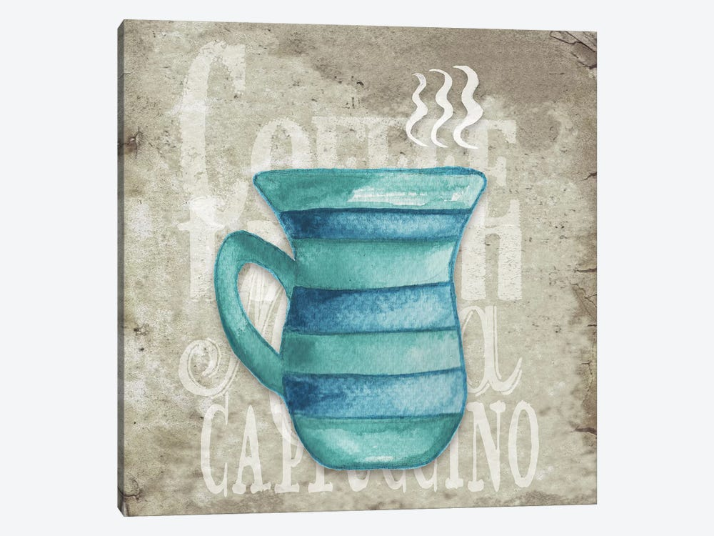 Daily Coffee II by Elizabeth Medley 1-piece Canvas Art