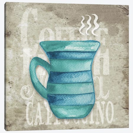 Daily Coffee II Canvas Print #EME127} by Elizabeth Medley Canvas Art Print