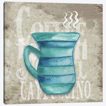Daily Coffee II Canvas Print #EME127} by Elizabeth Medley Canvas Art Print