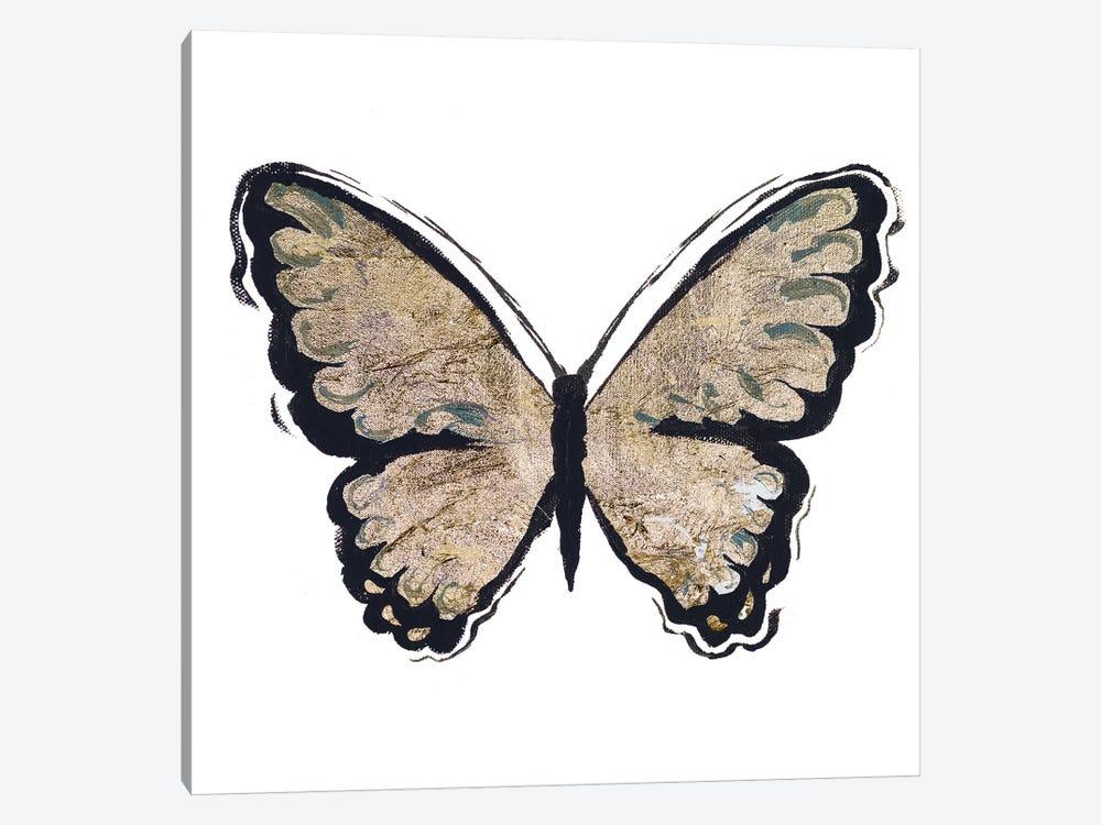 Flutter Gold I Canvas Wall Art by Elizabeth Medley   iCanvas