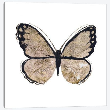 Flutter Gold II Canvas Print #EME138} by Elizabeth Medley Canvas Art Print