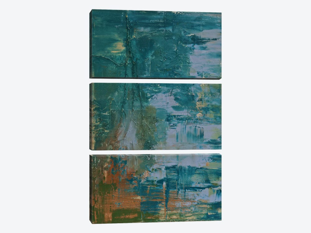 Sea Forest Three by Emily Magone 3-piece Canvas Print